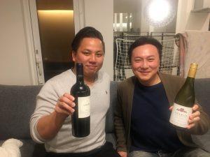 ワイン会!